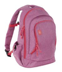 Detský batoh Backpack Big About friends mélange pink - 0 ks